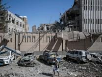 Nach Luftangriff auf Sanaa