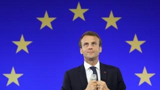 Frankreich Karlspreis für Macron