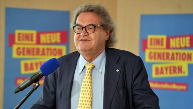 Helmut Markwort kandidiert für die FDP für den Landtag.