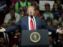 Donald Trump versprach eine tolle Steuerreform