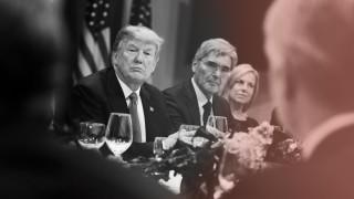 Donald Trump, Joe Kaeser, Kirstjen Nielsen