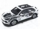 Porsche Cayenne E-Hybrid Phantomgrafik
