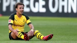 BVB-Mittelfeldspieler Mario Götze im Bundesliga-Spiel von Borussia Dortmund gegen den 1. FSV Mainz 05 in der Saison 2017/18.