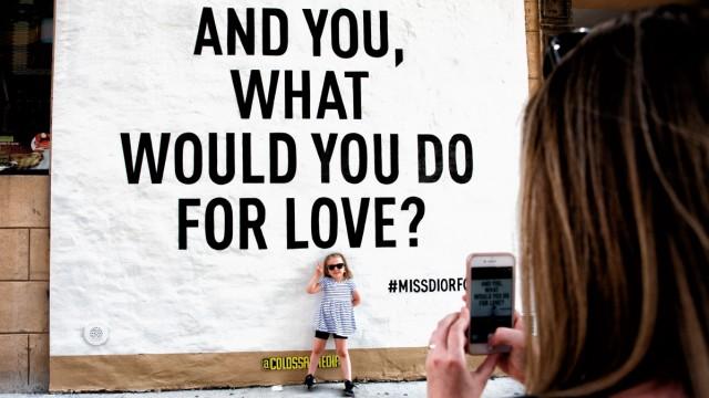 Murals in der Werbung