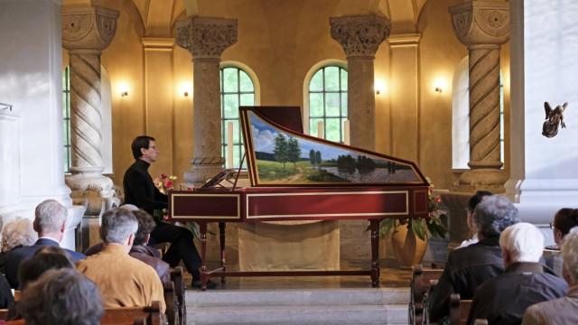 Wolfratshausen Cembalo-Konzert in Sankt Michael