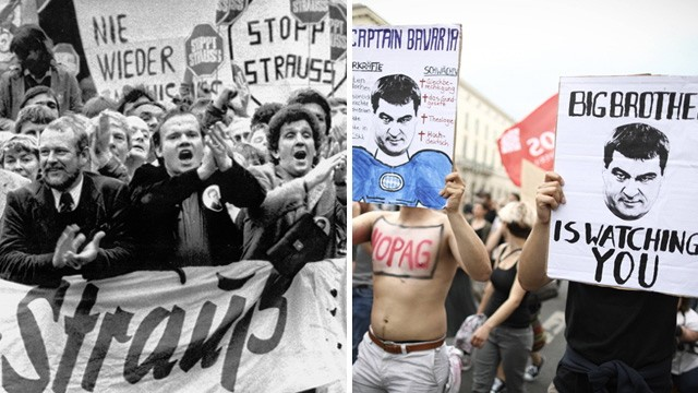 München Widerstand gegen Polizeiaufgabengesetz