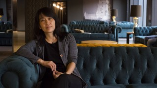 Han Kang Porto 04 09 2017 Interview with Korean writer Han Kang winner of Booker Prize 2016 PUB