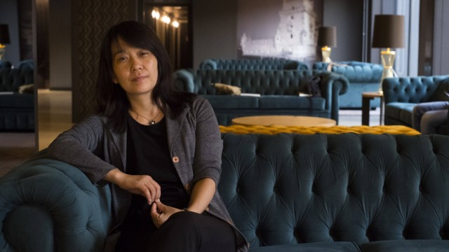 Han Kang Porto 04 09 2017 Interview with Korean writer Han Kang winner of Booker Prize 2016 PUB