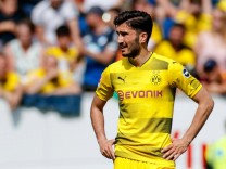 Sinsheim Deutschland 12 05 2018 1 Bundesliga 34 Spieltag TSG 1899 Hoffenheim BV Borussia Dor; Sahin