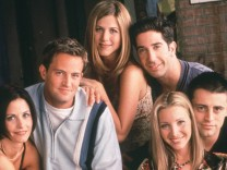 Film Still from Friends Courtney Cox Matthew Perry Jennifer Aniston David Schwimmer & Matt LeBla; jetzt friends