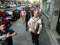 Theater/Performance-Projekt mit bulgarischen/rumänischen Tagelöhnern
