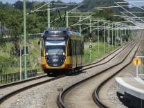 ARTIS-Uli Deck// 07.08.2017 AVG, KVV, Stadtbahnstrecke Woerth-Germersheim, Linie S51, S52; Karlsruhe Nahverkehr Tram Straßenbahn Stadtbahn