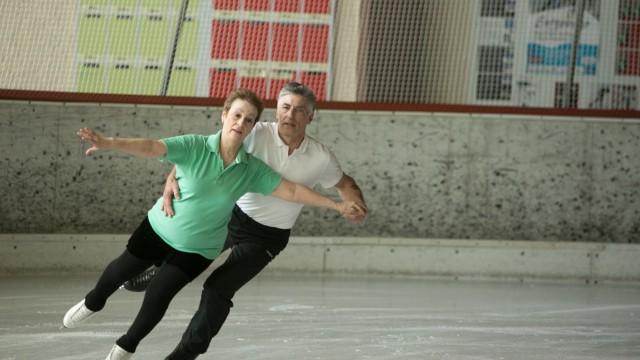Eislauf ISU Adult-Competition, Oberstdorf, Allgäu