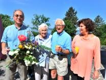 Breitbrunn 90. Geburtstag von Doris Ibarra