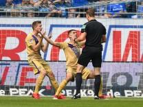 13 05 2018 xfux Fussball 2 Bundesliga SV Darmstadt 98 Erzgebirge Aue emspor emonline deloka