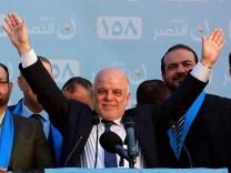 Schiitischer Ministerpräsident Haidar al-Abadi