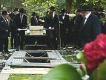Beisetzung von Max Mannheimer in München, 2016