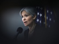 Green Party Presidential Candidate Jill Stein Holds News Conf. In Washington