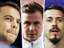 WM-Kader 2018: Bundestrainer Joachim Löw nominiert Manuel und Nils Petersen für den vorläufigen Kader, Mario Götze und Sandro Wagner sind nicht dabei.