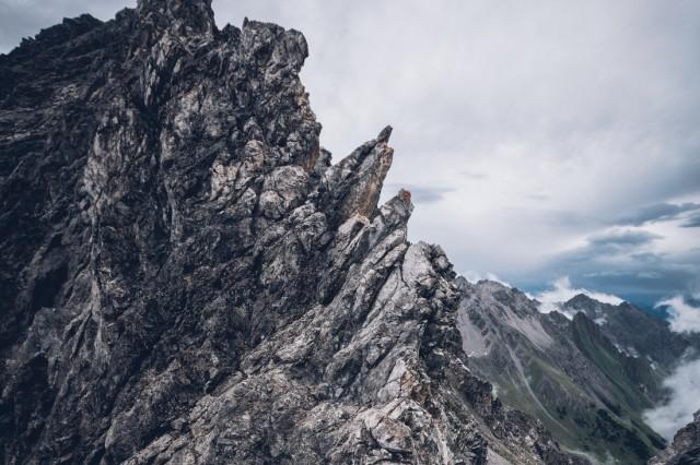 E5 Alpenüberquerung Alpenquerung von Oberstdorf nach meran