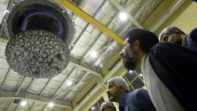 Nuklearanlage zur Uran-Umwandlung in Isfahan