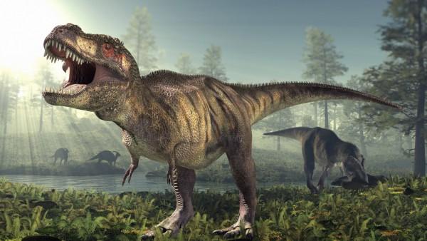 Tyrannosaurus rex dinosaur Tyrannosaurus rex dinosaur artwork PUBLICATIONxINxGERxSUIxHUNxONLY ROGE