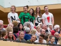 Polizeiaufgabengesetz Landtag Bayern Beschluss