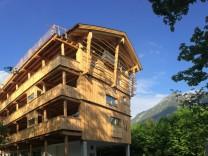 Werdenfelserei, Garmisch-Partenkirchen Alpen Bayern Berge Hotel