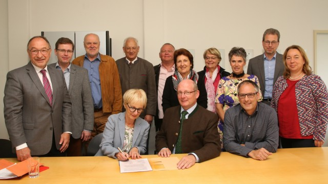 Bürgermeister unterzeichnen Petition an den Landtag; Wegen der Kindergartengebühren