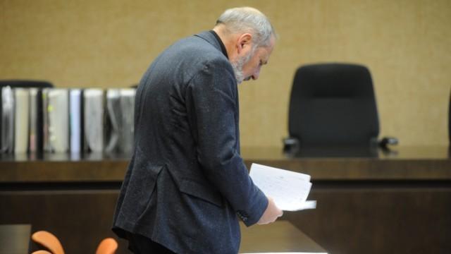 Siegfried Mauser, Ex-Präsident der Münchner Hochschule für Musik, vor Gericht