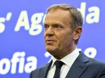 Tusk Sofia EU-Gipfel