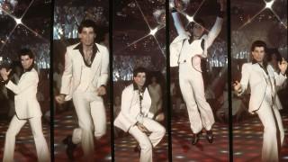 Studio publicity film still from Saturday Night Fever John Travolta 1977 Paramount PUBLICATIONxINxGE
