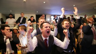 Brexit Entscheidung - Leave.eu Party