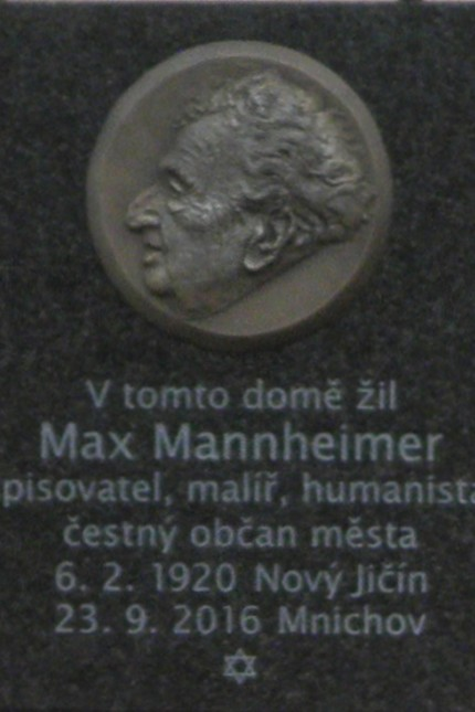 Ehrentafel für Max Mannheimer