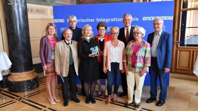 Hohe Auszeichnung für Puchheimer Helferkreis Bayerischer Integrationspreis 2018 geht an Learn4Work