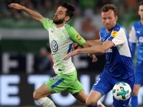 VfL Wolfsburg v Holstein Kiel - Bundesliga Playoff Leg 1