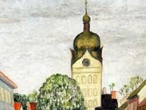 """Ausstellung """"Mit Pinsel und Palette"""""""