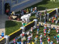 BRITAIN-ROYALS-WEDDING-LEGO