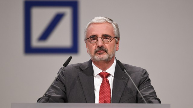 Paul Achleitner - Deutsche Bank