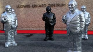Bundespräsident besucht Ludwig-Erhard-Zentrum