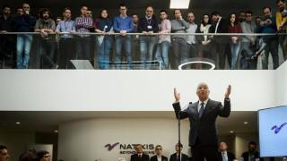 Antonio Costa at the inauguration of Natixis Porto 07 03 2018 The Prime Minister Antonio Costa