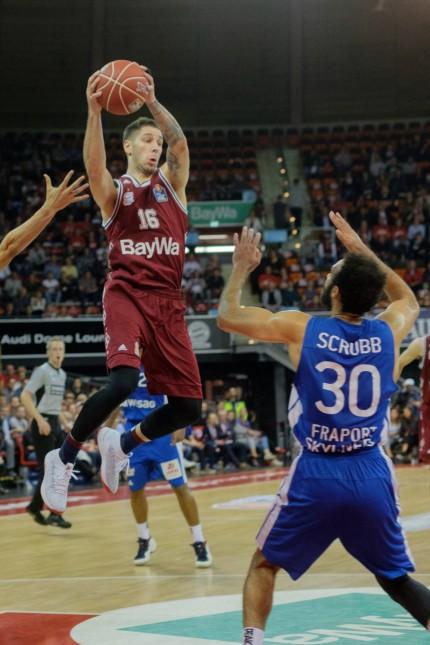 Stefan JOVIC 16 FCB Basketball FC Bayern FCB Fraport Skyliners Frankfurt FRA Bundesliga