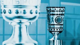 DFB Pokal Symbolbild Cup Handover DFB Pokal 2018 Berlin Cup Handover DFB Pokal 2018 Berlin *** D