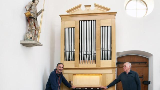 St. Nikolaus erhält neue Orgel; St. Nikolaus auf der Ilkahöhe