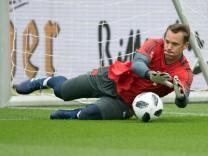 Vor dem DFB-Pokalfinale - Training FC Bayern