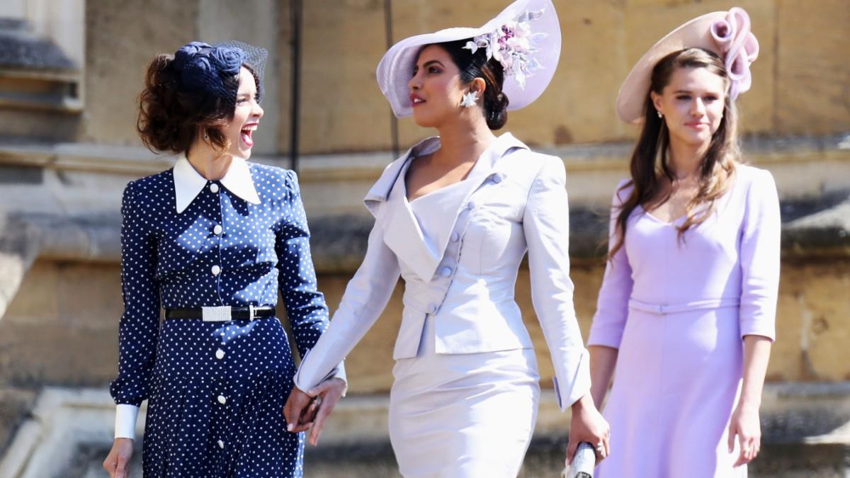 Hochzeit Von Harry Und Meghan Schauspielerin Priyanka Chopra