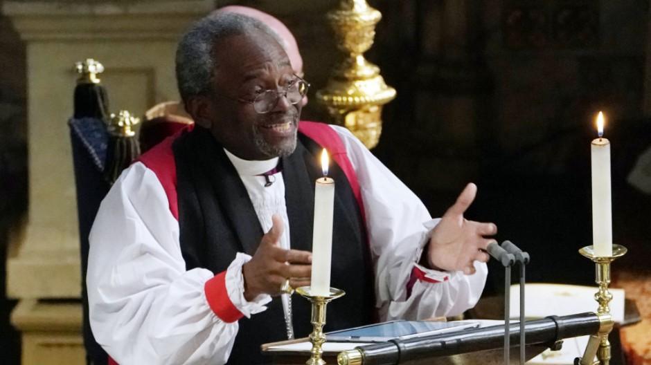 Hochzeit von Harry und Meghan: Bischof Curry