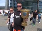 Bayern- und Frankfurt-Fans freuen sich aufs DFB-Pokal-Finale (Vorschaubild)