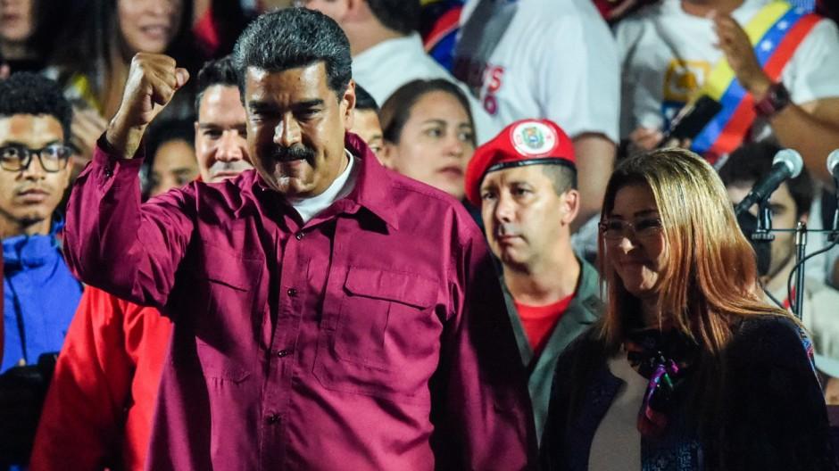 Nicolás Maduro gewinnt Wahl in Venezuela