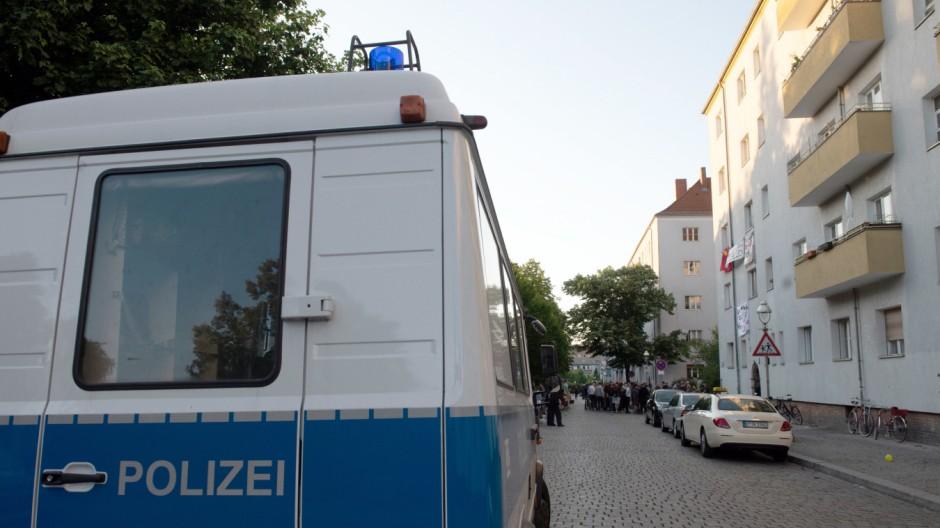 Polizei räumt zwei besetzte Häuser in Berlin
